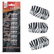 Набор лаковых полосок для ногтей Зебра Nail Foil...