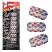 Набор лаковых полосок для ногтей Блестящий градиент Nail Foi...