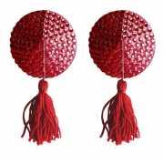 Красные круглые пестисы Nipple Tassels Round...
