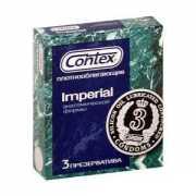 Плотно облегающие презервативы Contex Imperial - 3 шт....